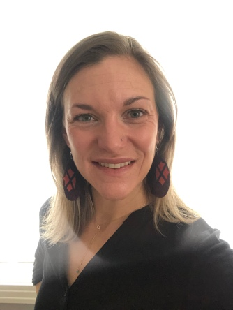 Kitenge earrings, large